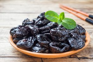 Prunes is considered as one of the iron rich foods