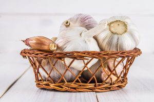 Garlic contains a host of antioxidants