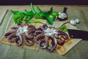 Octopus contains 29 percent of iron