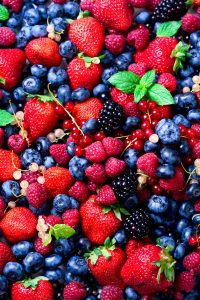 berries zero calorie for weight loss