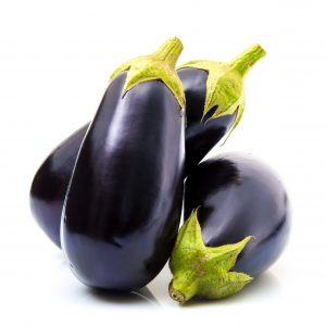 Eggplant is a low-carb food which is high in nutrients and low in calories