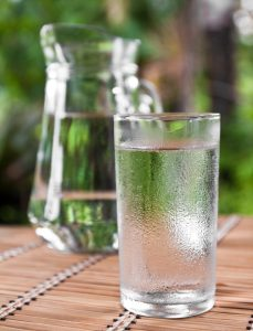 Water may not qualify as food but you cannot detoxify without it