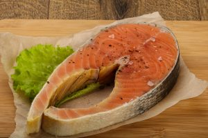 Salmon boosts circulation as well as raising the ration of good versus bad cholesterol