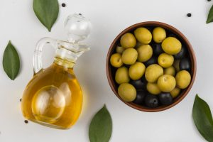Olive is one of the healthiest iron rich fruits in the world