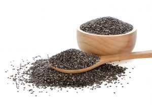 Chia seeds are the best belly-fat fighters that work by delaying digestion
