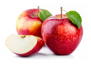 Apples contain soluble fibre which helps in the reduction of visceral fat and help lose weight fast