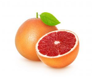 Grapefruits help lose weight fast because they are no chums with belly fat