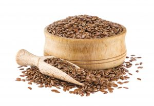 A tablespoon of flax seeds provides 3 percent of non-heme iron