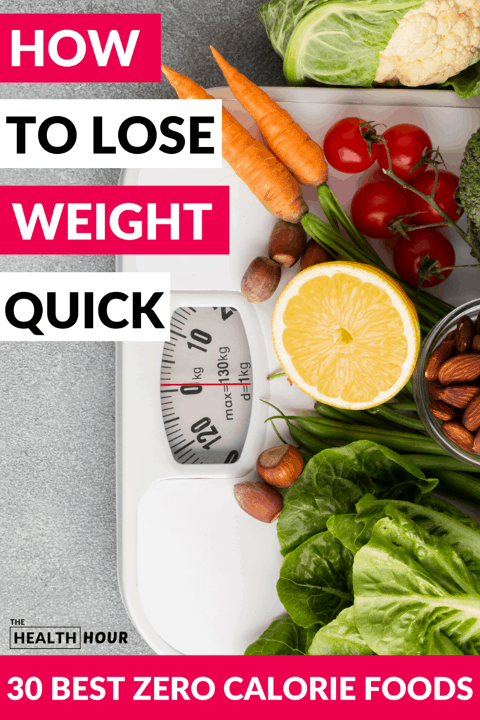 7. 30 Wonderful Zero Calorie Foods For Weight Loss You Need To Know