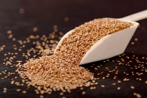 Sesame seeds is one of the iron rich foods