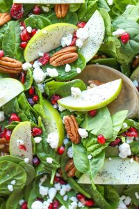 Apple Cranberry Pecan Salad the perfect salad thanksgiving side dish