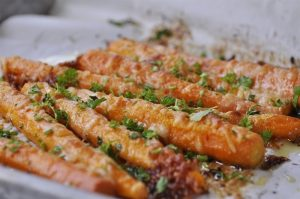 Parmesan Roasted Carrots are seriously going to quickly become your favorite way to eat carrots