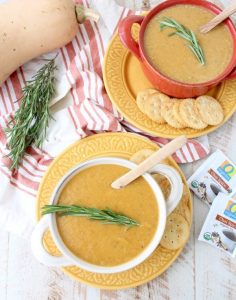 Chai Spiced Butternut Squash Soup