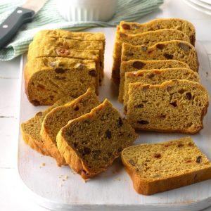 low Cooker Pumpkin Yeast Bread