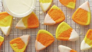 Marbled Candy Corn Cookies