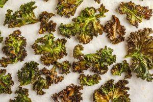 Thanksgiving Appetizer Kale Chips