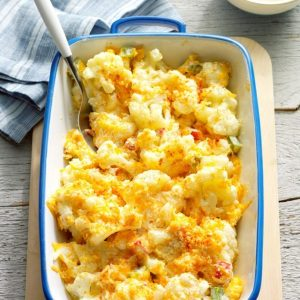 Cauliflower Casserole suggested for thanksgiving dish