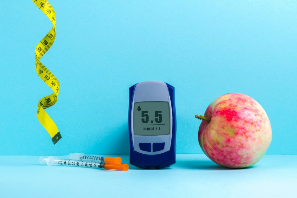 Monitoring the sugar level to avoid obesity