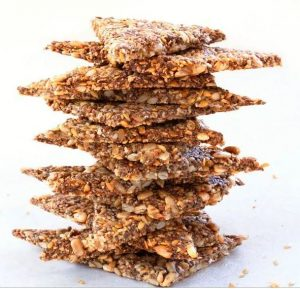 Mixed Nuts and Seed Crackers