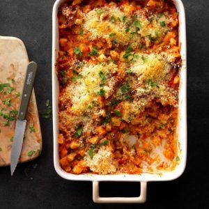 Potato and Chorizo Casserole as thanksgiving dish