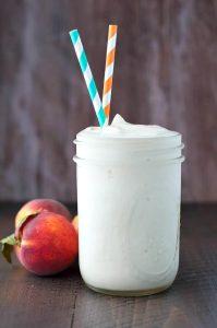 Peach & Cream Protein Shake