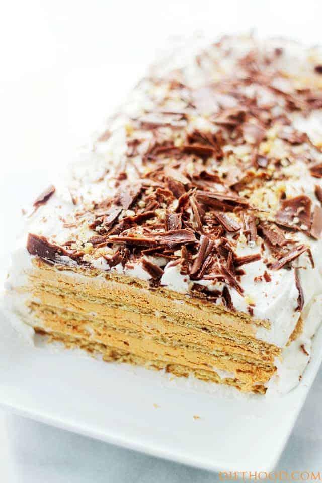 Thanksgiving Dessert Pumpkin Mousse Ice Box Cake