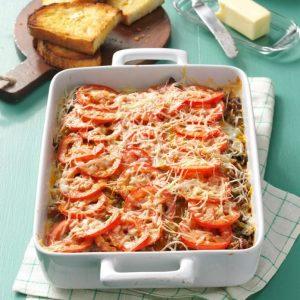 Italian Sausage Casserole Make-Ahead Recipe