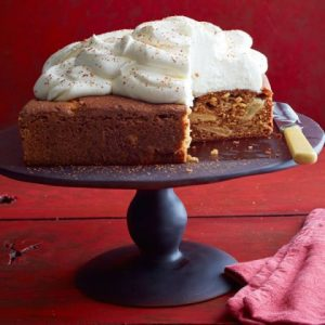 Thanksgiving Dessert Apple Spice Cake