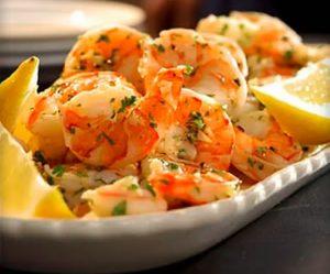 Thanksgiving Appetizer Lemon-Garlic Marinated Shrimp