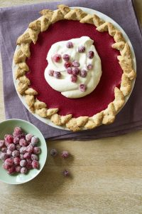 Cranberry Pie with Snickerdoodle Crust