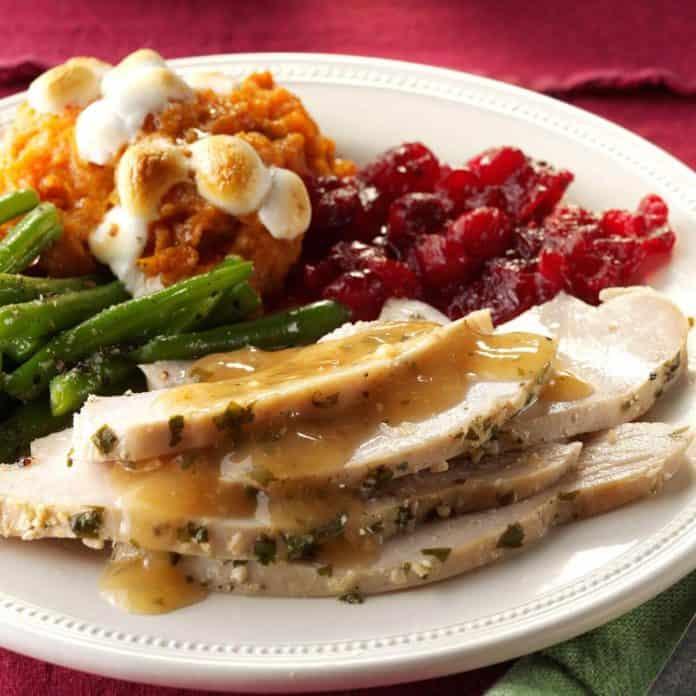 Thanksgiving Lemon-Garlic Turkey Breast