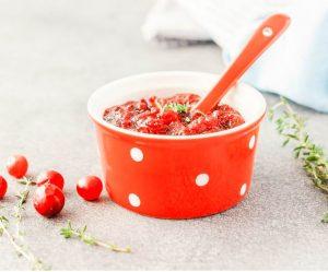 Instant Pot Maple Cranberry Sauce