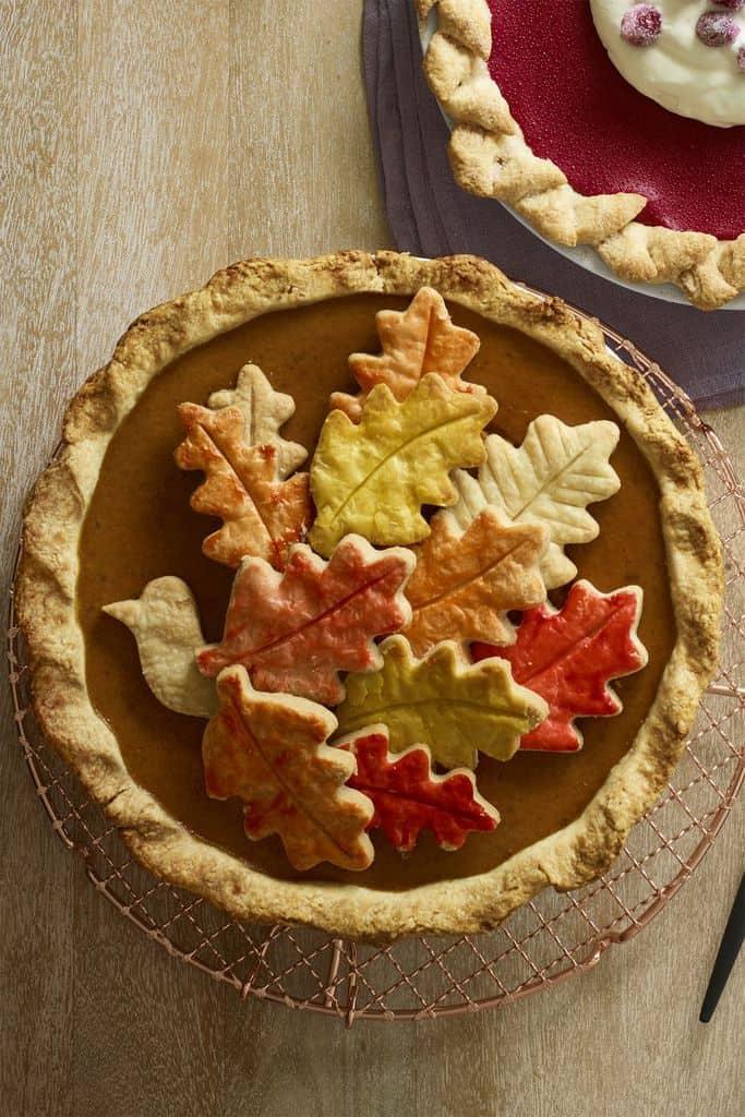 Thanksgiving dessert Chai Pumpkin Pie