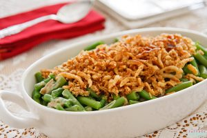 Best Vegan Green Bean Casserole