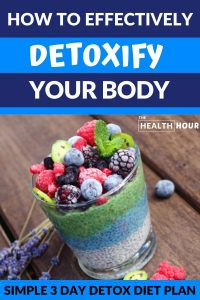 Your 3 Day Detox Diet Plan that's Quick, Simple & Effective