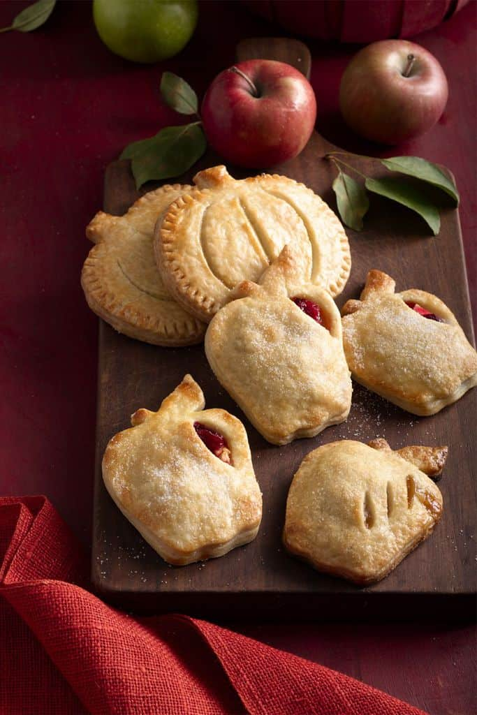 Apple and Cranberry Hand Pies