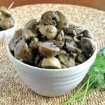 Slow Cooker Mushrooms