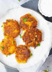 Vegan Chickpea Squash Fritters is one the best Vegan Thanksgiving Ideas