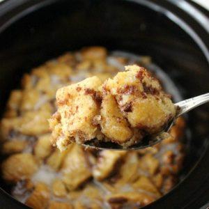 Thanksgiving Cinnamon Roll Casserole