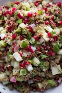 Fennel and Pomegranate Quinoa Salad