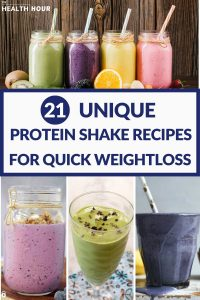 21 Unique Protein Shake Recipes for Fast Weight Loss