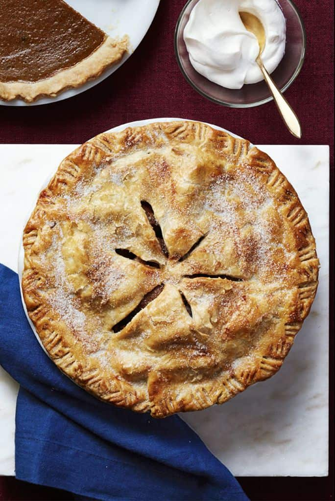 Thanksgiving Dessert Pear Pie