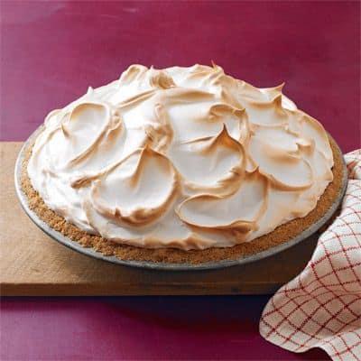 Browned Butter Butterscotch Meringue Pie