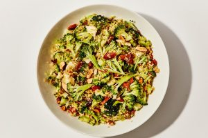 Make-Ahead Broccoli and Quinoa Salad