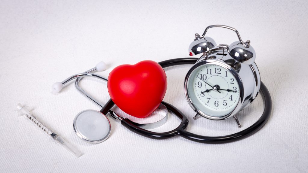 Alarm Clock with a Healthy Heart
