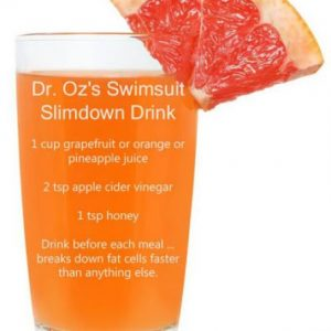 Swimsuit Slimdown Drink for losing weight