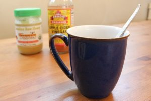 Warm Raw Honey Apple Cider Vinegar Drink